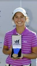 Congratulations Julia Gregg - National Finalist in the Drive Chip and Putt competition on Sunday, April 3.