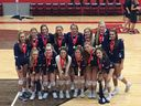 Congratulations to our Girls Varsity Volleyball Team for placing 2nd in State and to the following girls.