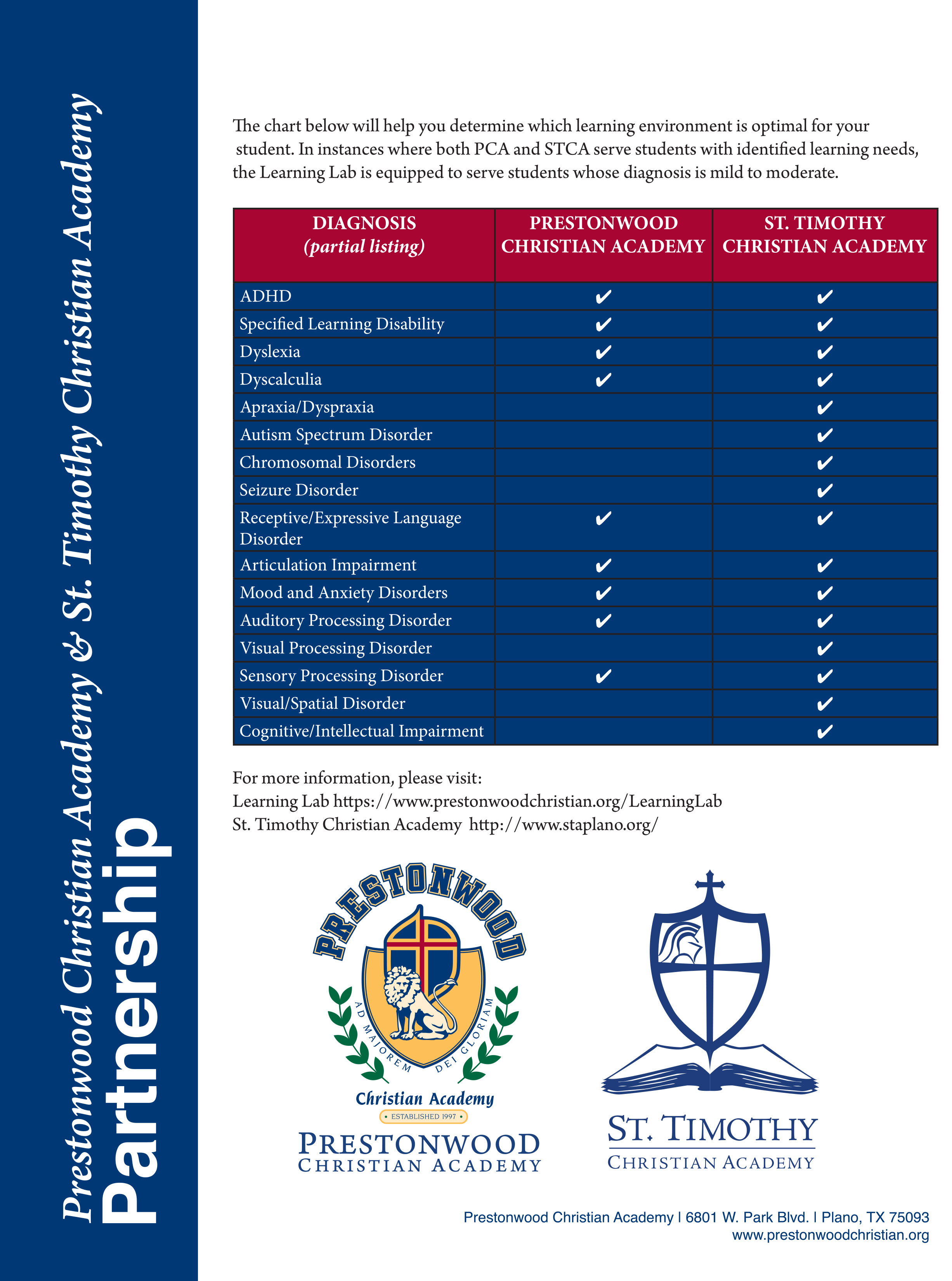 State of School - Prestonwood Christian Academy