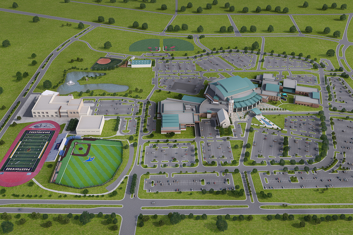 Campus Map Prestonwood Christian Academy